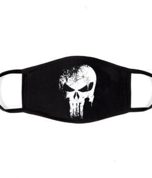 Punisher %100 Pamuklu Yıkanabilir Maske