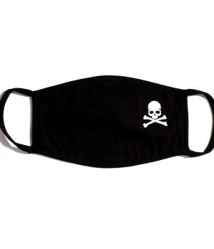 Korsan Kurukafa Skull %100 Pamuklu Yıkanabilir Maske