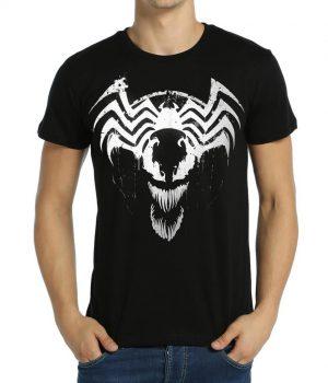 Venom Siyah Erkek Tişört