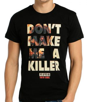 Tokyo Ghoul Killer Siyah Erkek Tişört