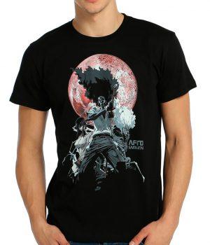 Afro Samurai Siyah Erkek Tişört