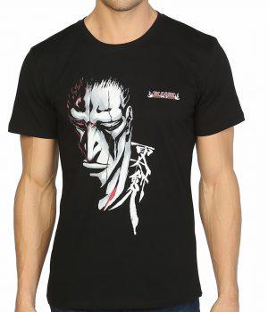 Bleach Kenpachi Zaraki Siyah Erkek Tişört