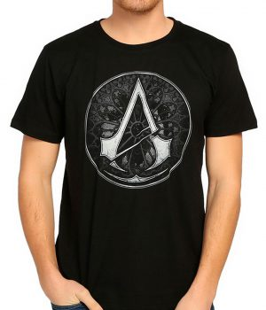 Assassin's Creed Siyah Erkek Tişört