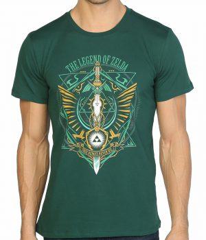 Legend Of Zelda Yeşil Erkek Tişört