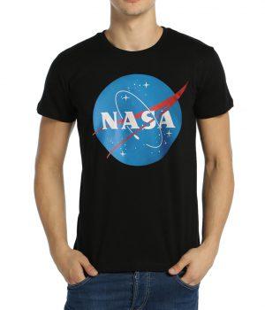 NASA Siyah Erkek Tişört