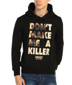 Tokyo Ghoul Killer Siyah Kapşonlu Sweatshirt