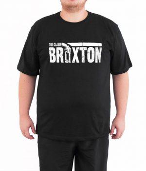 Clash Guns Of Brixton 4XL Büyük Beden Siyah Erkek Tişört